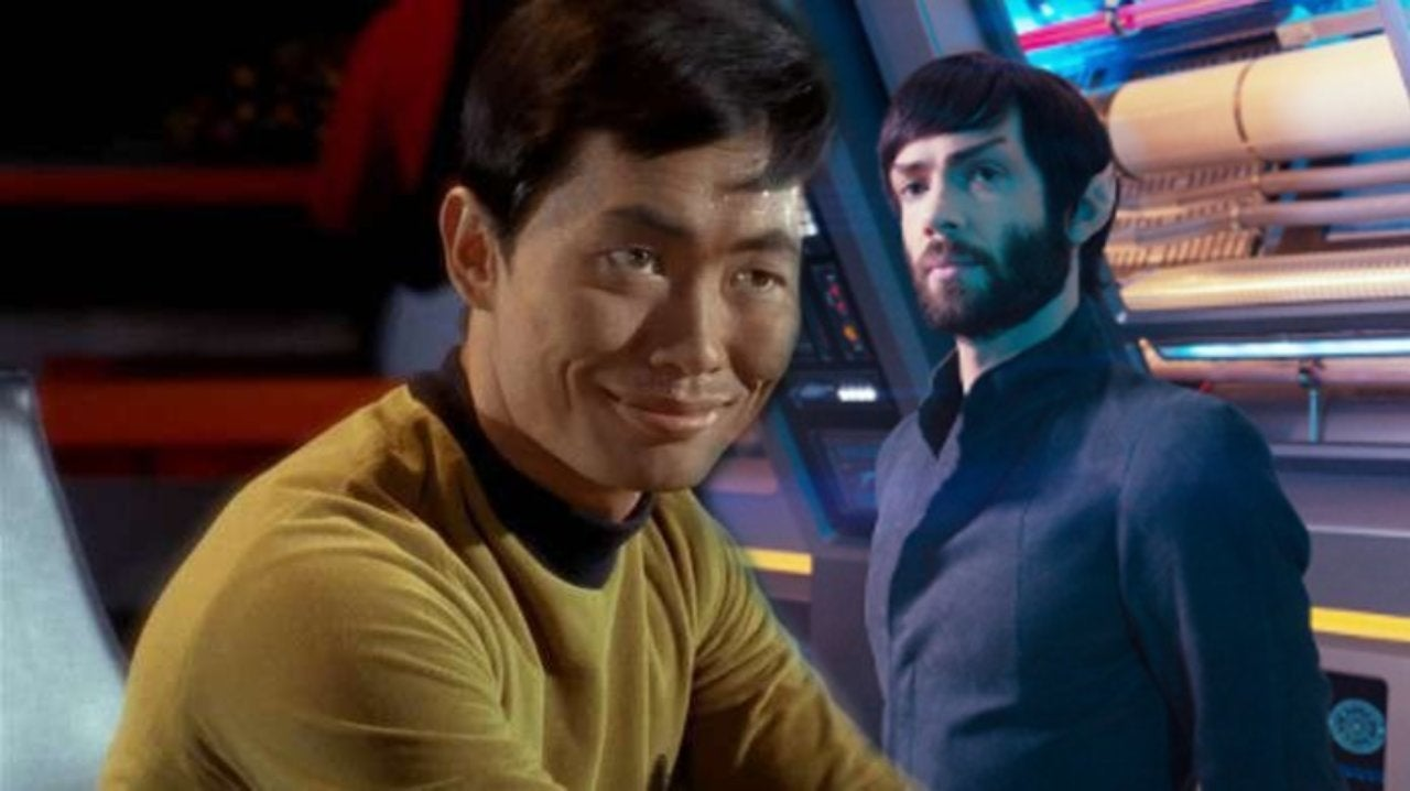 'Star Trek': Ethan Peck Has Perfect Response to George Takei's Sexy Spock Comment