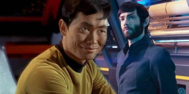 Star Trek George Takei Spock Sexy Ethan Peck