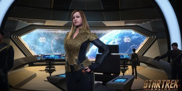 Star Trek Online Mirror of Discovery Captain Killy