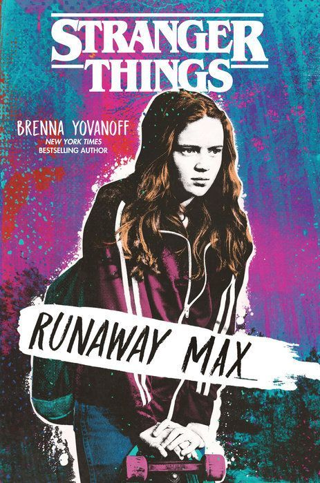 Stranger Things Runaway Max Cover
