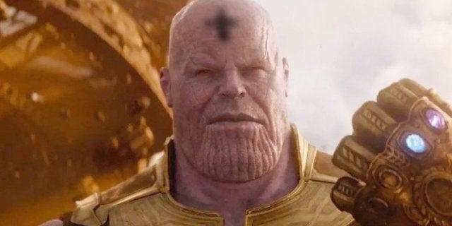 Thanos Ash Wednesday