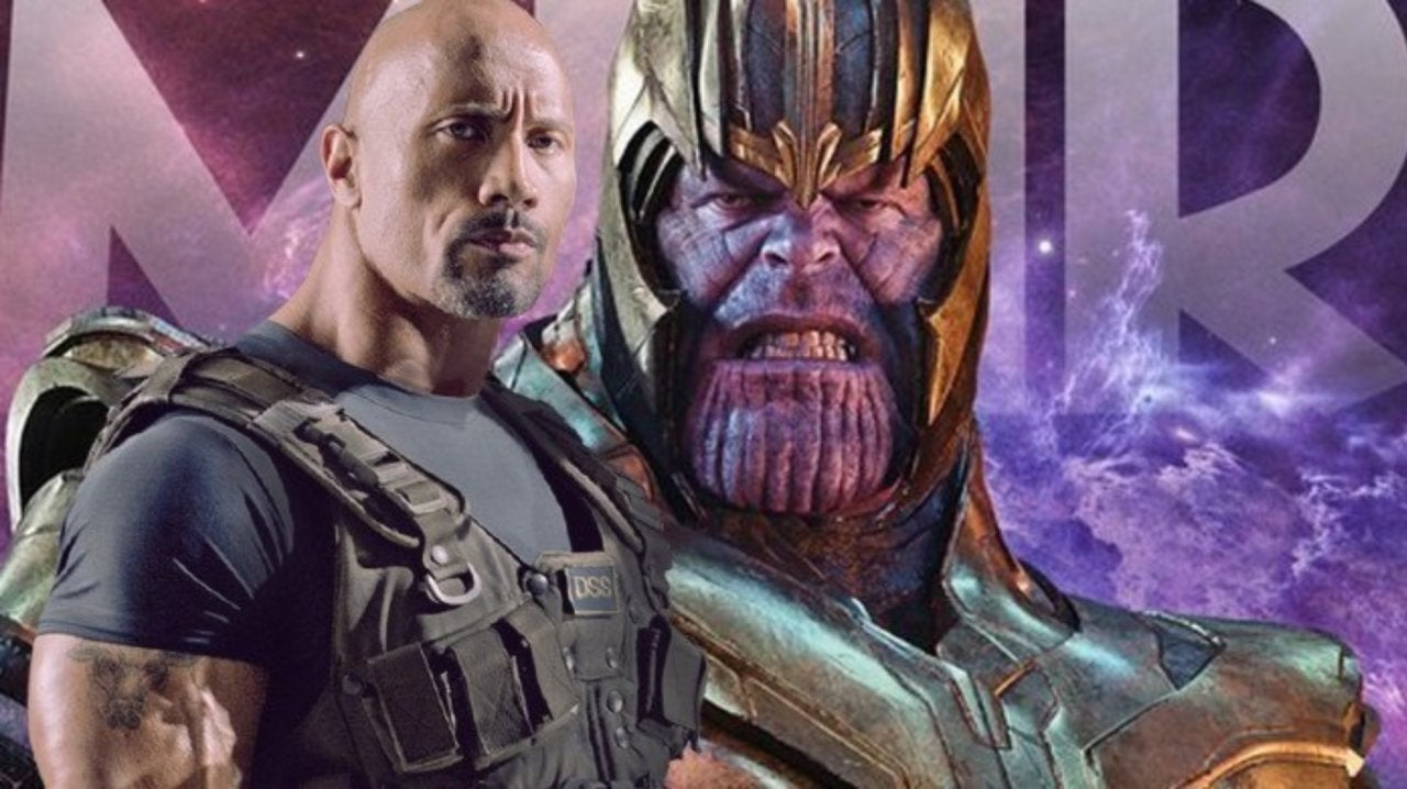 Thanos Actor Josh Brolin Threatens The Rock on Instagram