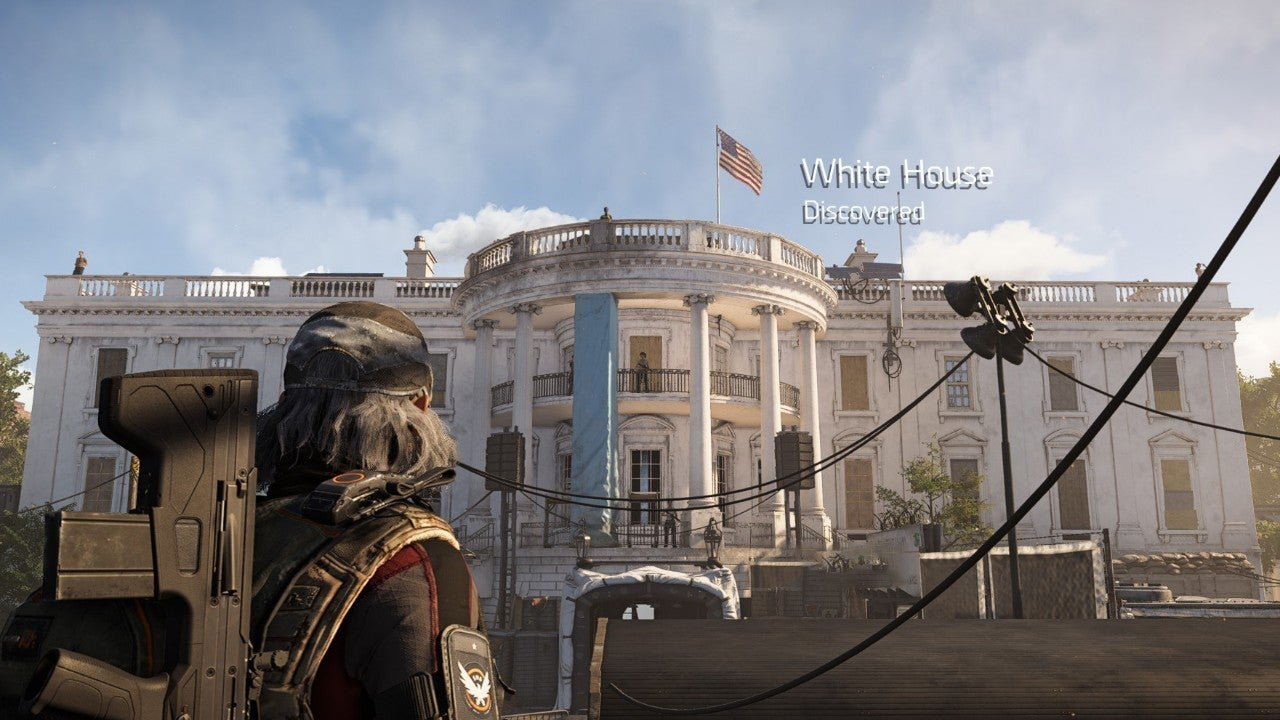 The Division 2 White House