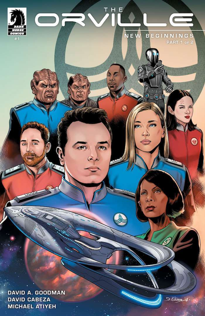 The Orville Comic Books