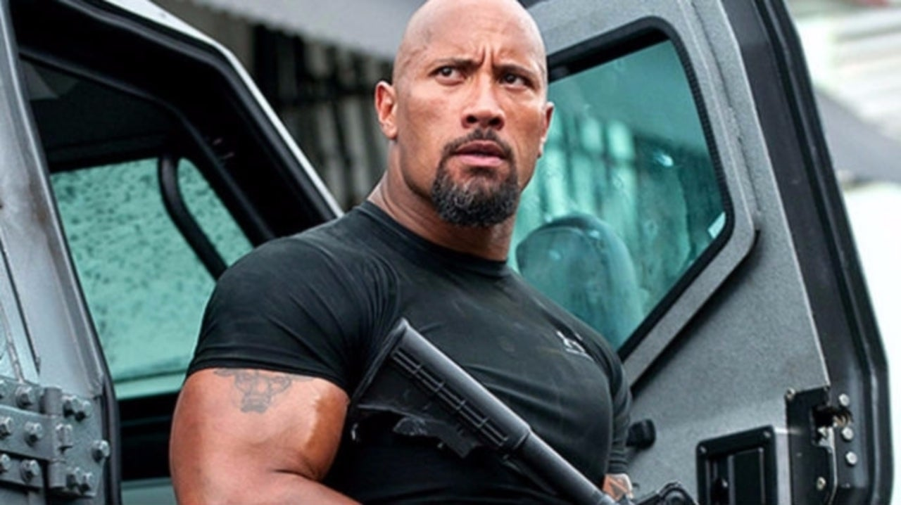 'Hobbs & Shaw's The Rock Interacted With Some Excited Young Fans While Driving