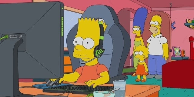 The Simpsons League of Legends