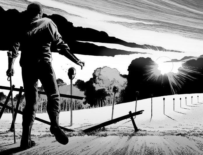 The Walking Dead 144 pikes