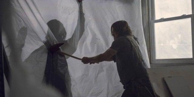 The Walking Dead 913 Daryl Beta fight