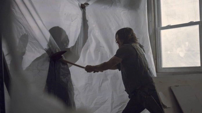 The Walking Dead 913 Daryl Beta fight