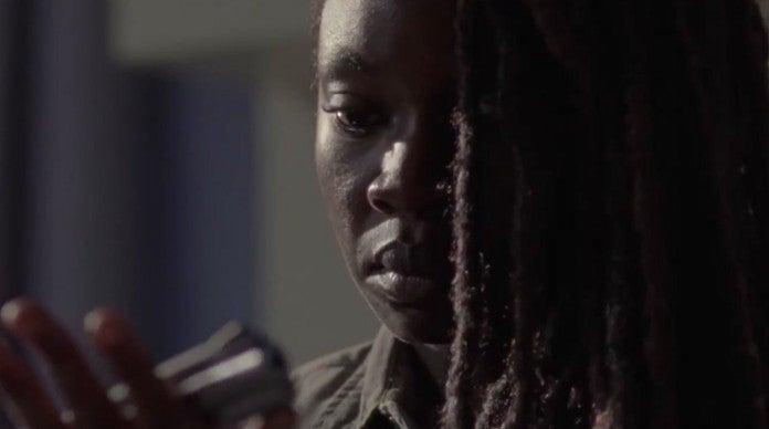 The Walking Dead 914 Scars Michonne
