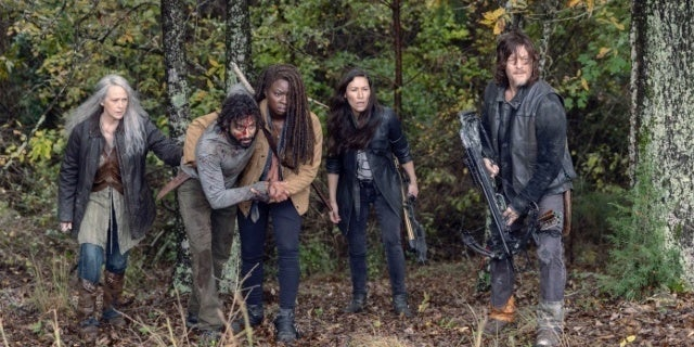 The Walking Dead 915 pikes