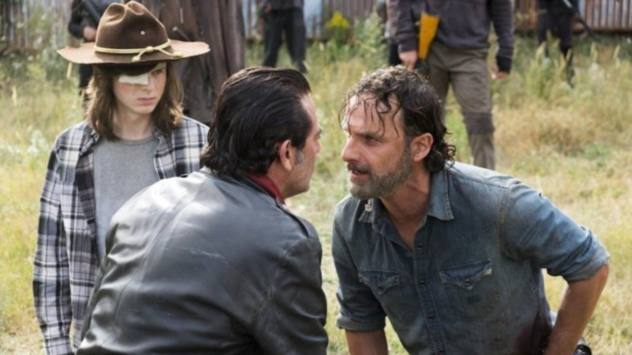 """'The Walking Dead's Chandler Riggs: Andrew Lincoln Deserved """"Way More Recognition"""" for Rick Grimes Role"""