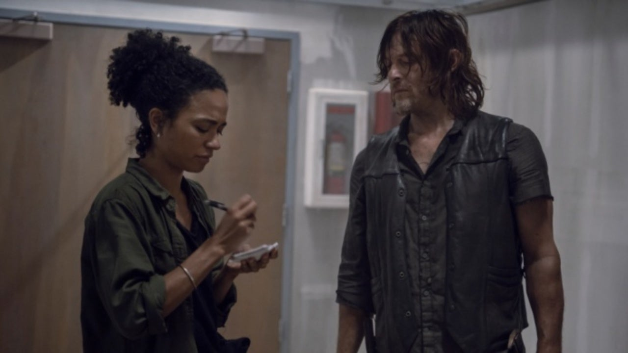 'The Walking Dead' Stars Norman Reedus and Lauren Ridloff Address Daryl and Connie Romance