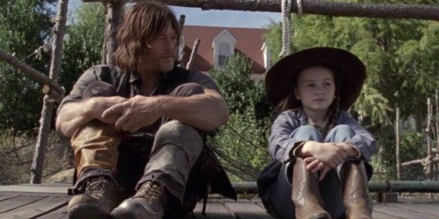 The Walking Dead Daryl Judith 914 Scars