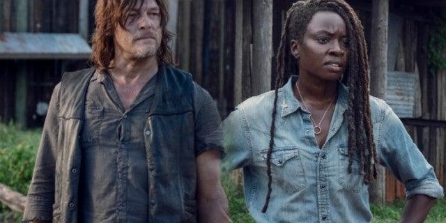 The Walking Dead Daryl Michonne X scars