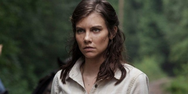 The Walking Dead Lauren Cohan Maggie
