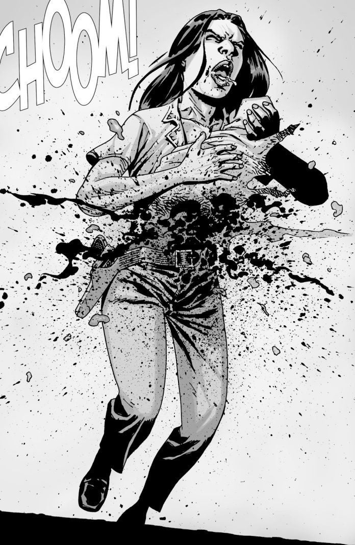 The Walking Dead Lori Judith death