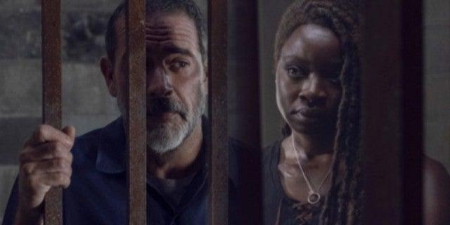 The Walking Dead Negan Michonne