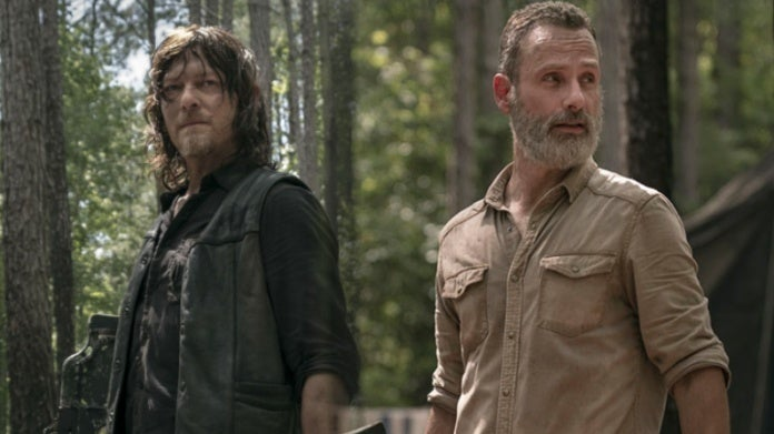 The Walking Dead Rick Daryl Andrew Lincoln Norman Reedus