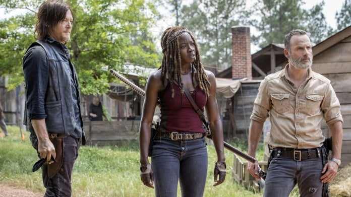 The Walking Dead Rick Daryl Michonne
