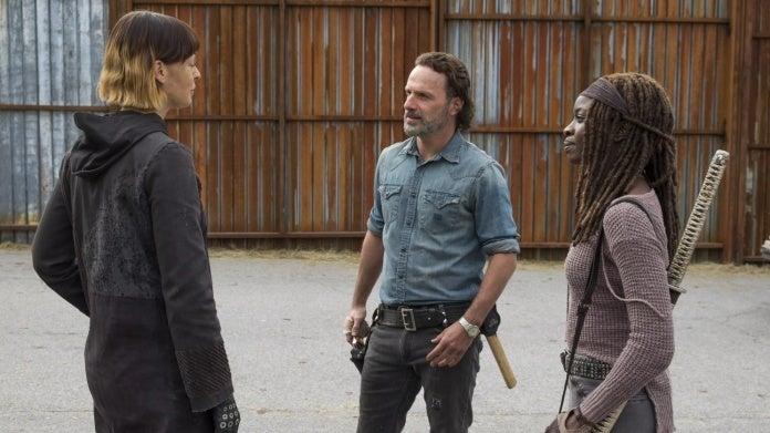 The Walking Dead Rick Michonne Jadis