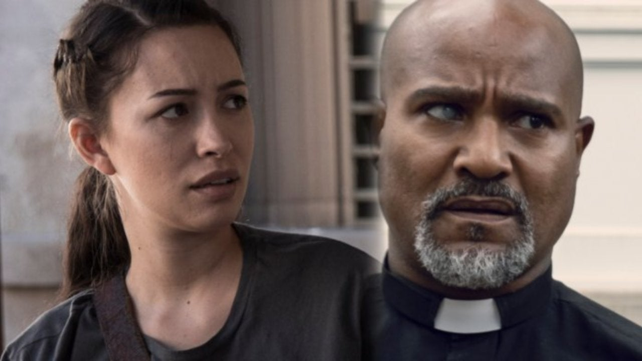 The Walking Dead Stars Explain The Father Gabriel And