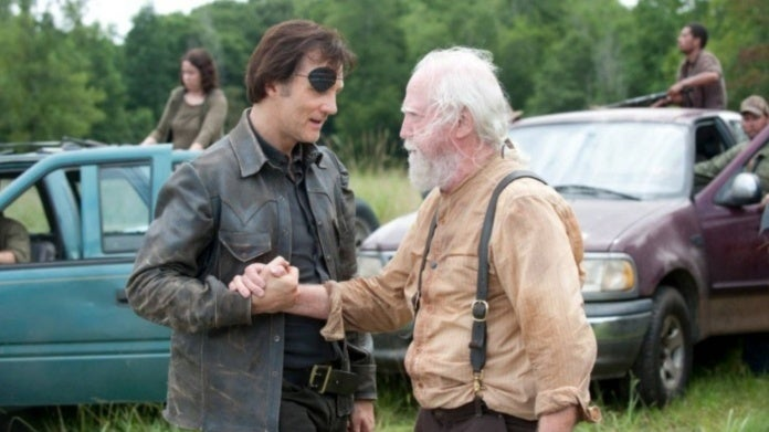 The Walking Dead Scott Wilson David Morrissey