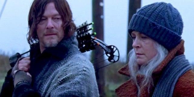 The Walking Dead season 9 finale Daryl Carol