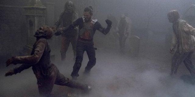 The Walking Dead Tom Payne Jesus death