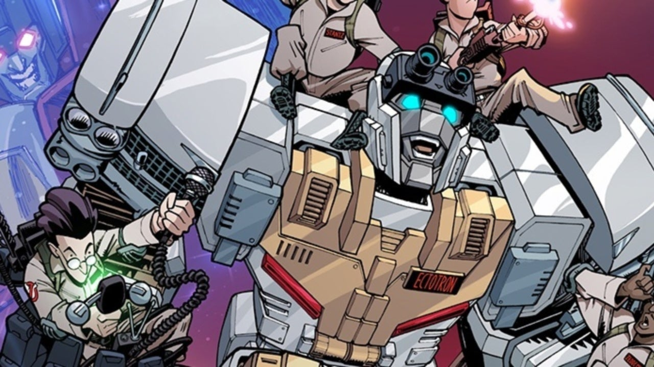 'Transformers/Ghostbusters' Erik Burnham Breaks Down Ectotron and Teases Another Mash-Up Character