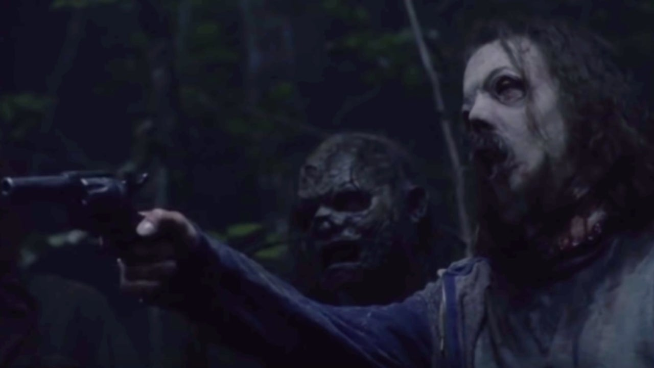 'The Walking Dead': Beta and the Whisperers Threaten Team Daryl in Creepy 915 Clip