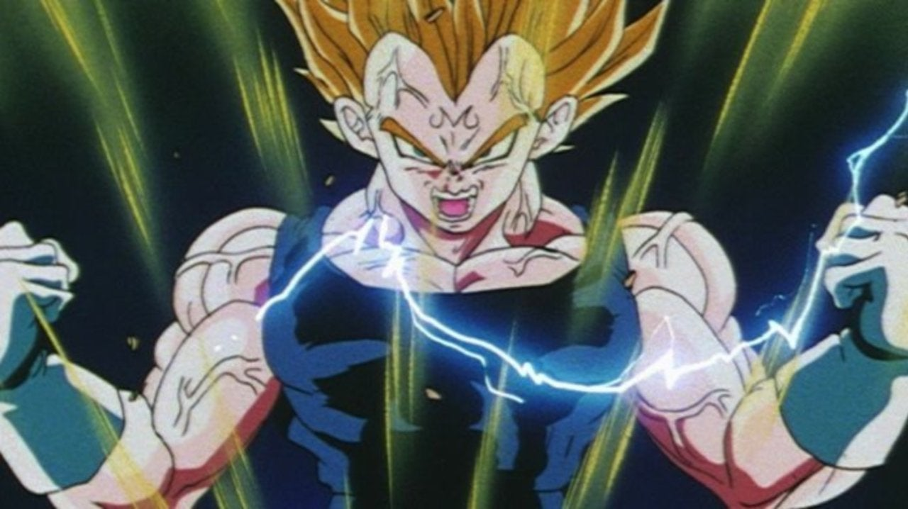 Dragon Ball Dragon Ball Z Majin Vegeta Tattoo