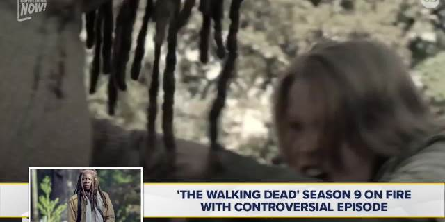 Walking Dead Season 9 Controversial Episode screen capture