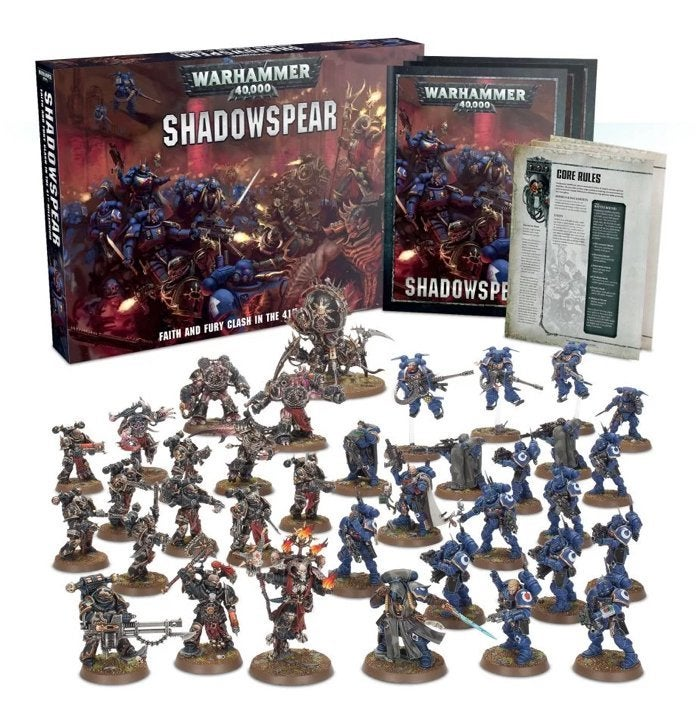 Save 15% on the Epic 'Warhammer 40000: Shadowspear' Battlebox