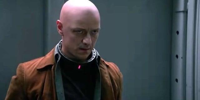 x-men dark phoenix professor xavier