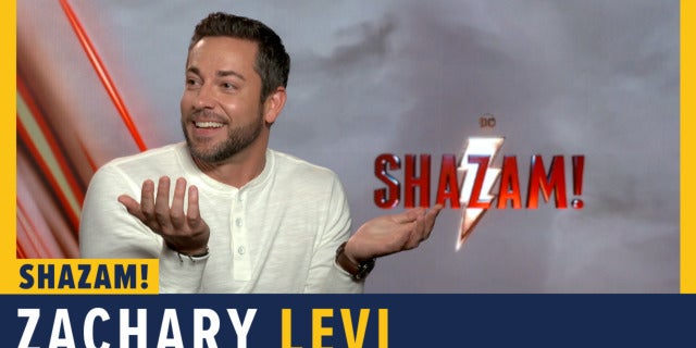 Zachary Levi Talks 'Shazam!' screen capture