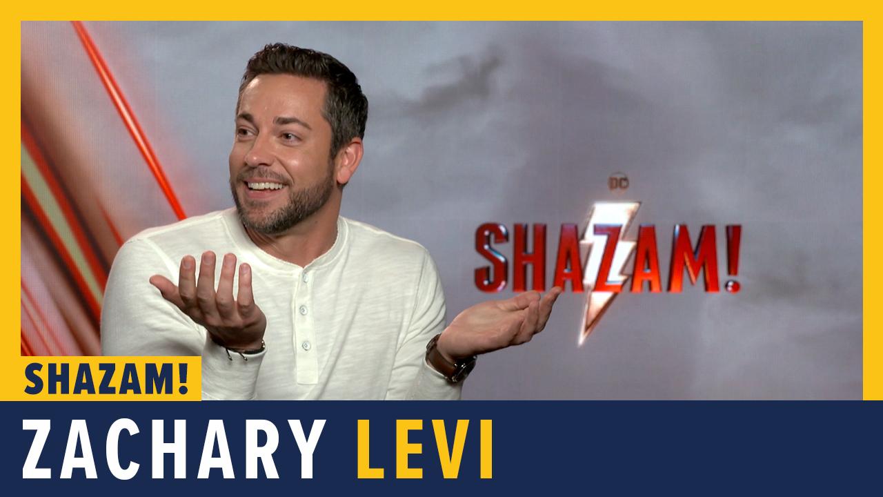 Zachary Levi Talks 'Shazam!' screen capture