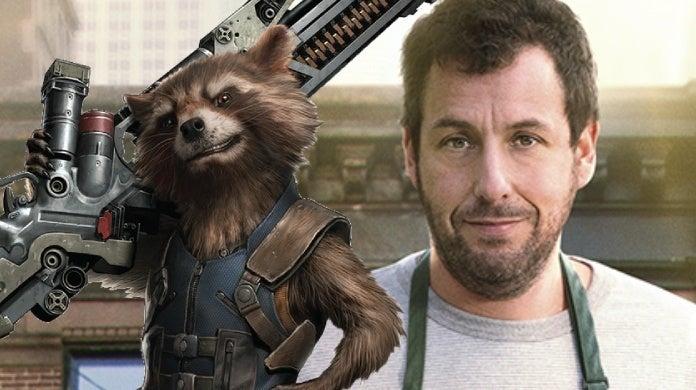 adam sandler rocket raccoon