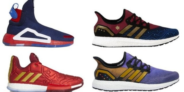 3a8c88bbe07b8 Marvel x Adidas Avengers  Endgame Sneakers Arrive Today