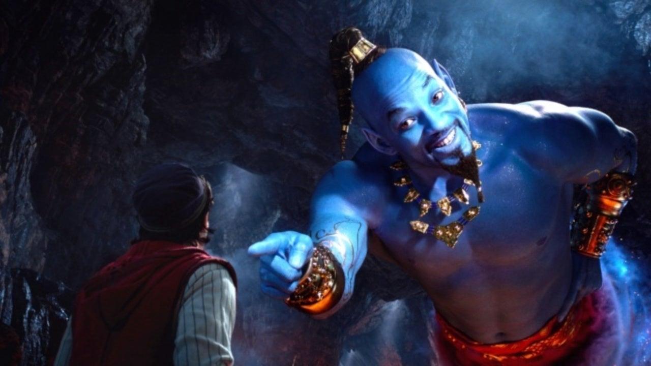 'Aladdin' Sneak Peeks Showing at Disney Parks