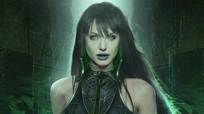 Angelina Jolie as Sersi in Marvel's Eternals