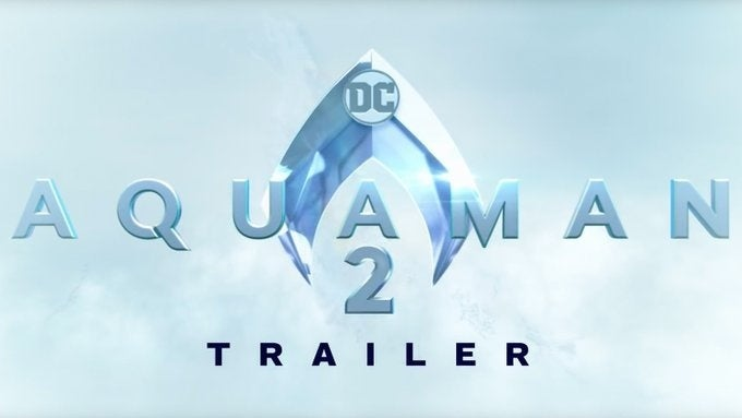 aquaman 2 trailer