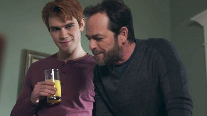 archie and fred andrews riverdale