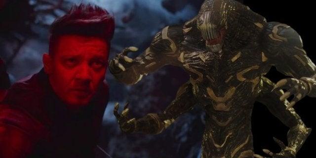 Avenger Endgame Compound Attack Scene Thanos Outriders