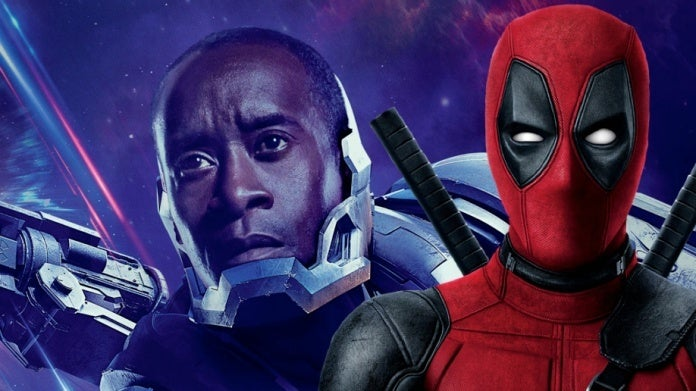 Avengers Don Cheadle Deadpool