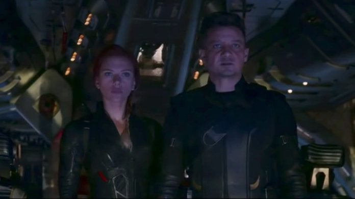 Avengers Endgame Black Widow Hawkeye Family
