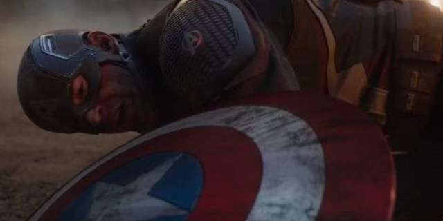 Avengers: Endgame Crew Reveals Close-Up Look at Captain America's Broken Shield