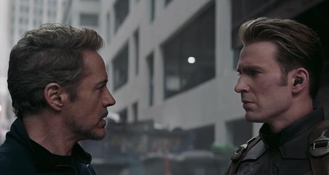 avengers endgame captain america tony stark
