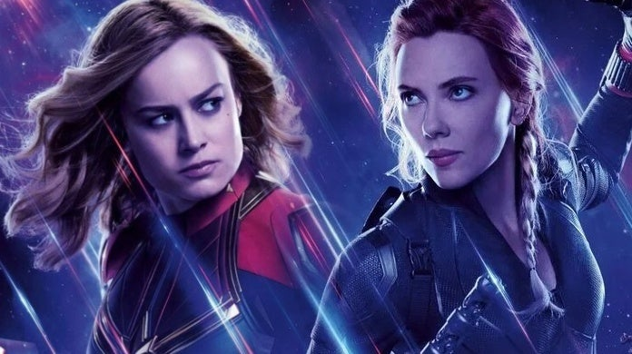 avengers endgame captain marvel black widow