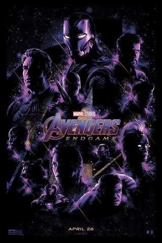 Avengers: Endgame movie poster image